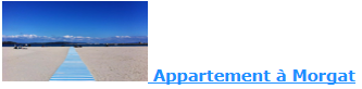 réservation à l'Appartement à Morgat