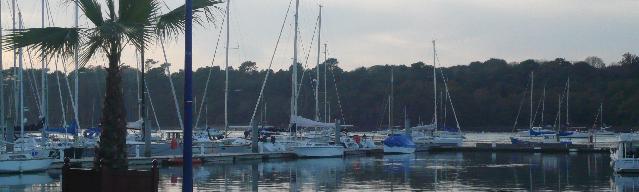 Le port de plaisance de Penfoul à Bénodet