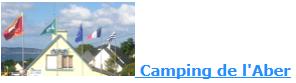 réservation au Camping de l'Aber à Crozon-Morgat