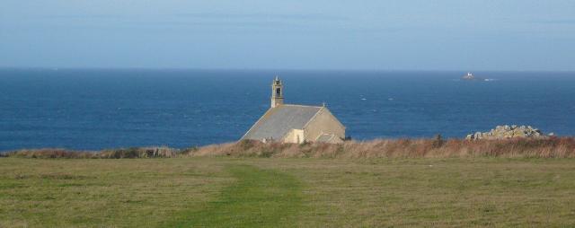 La chapelle Saint-They à la Pointe du Van dans le Cap-Sizun
