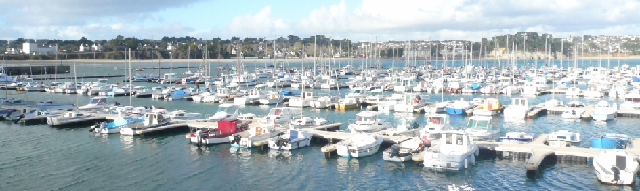 Le port de plaisance de Morgat